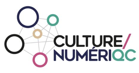 Nouvelle signature de la communauté #CultureNumeriQc